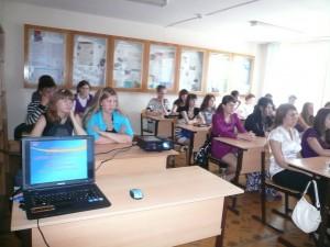 Знакомство первокурсников с кафедрой ТАОИ, 1 сентября 2010 год