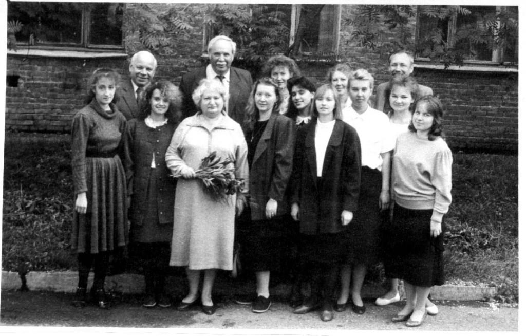 Преподаватели и выпускники кафедры АБСиВТ, 1989 г.