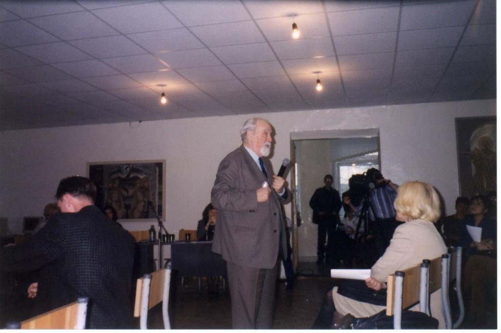 С.А. Сбитнев со вступительным словом на конференции